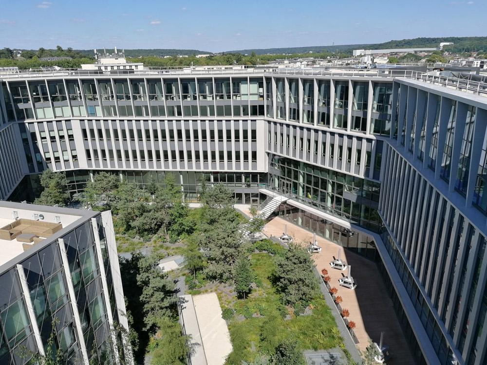 Construction de deux immeubles de bureaux Versailles