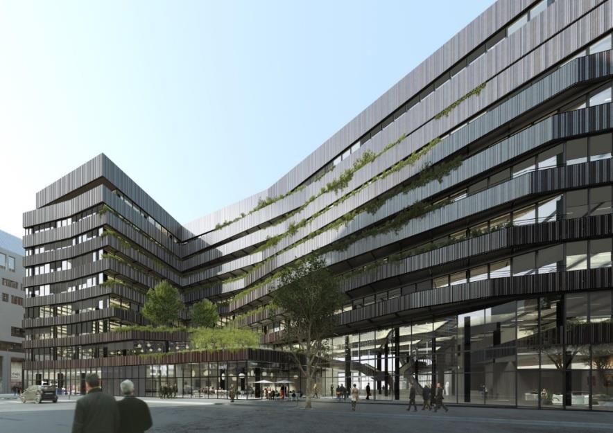 Immeuble P17 - ZAC Batignolles - Paris 17