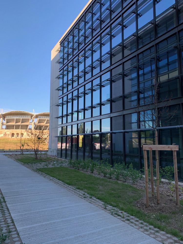 Construction immeubles de bureaux Les Jardins du Lou