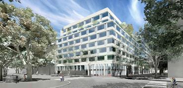 Immeuble de bureaux N8B - Saint Ouen