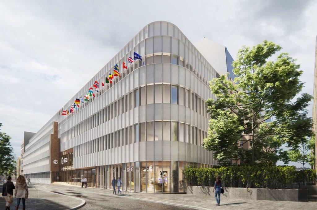 Restructuration siège de l'ESA